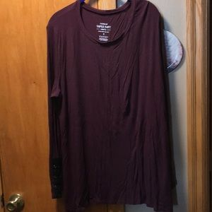 Torrid long sleeve super soft shirt size 3X